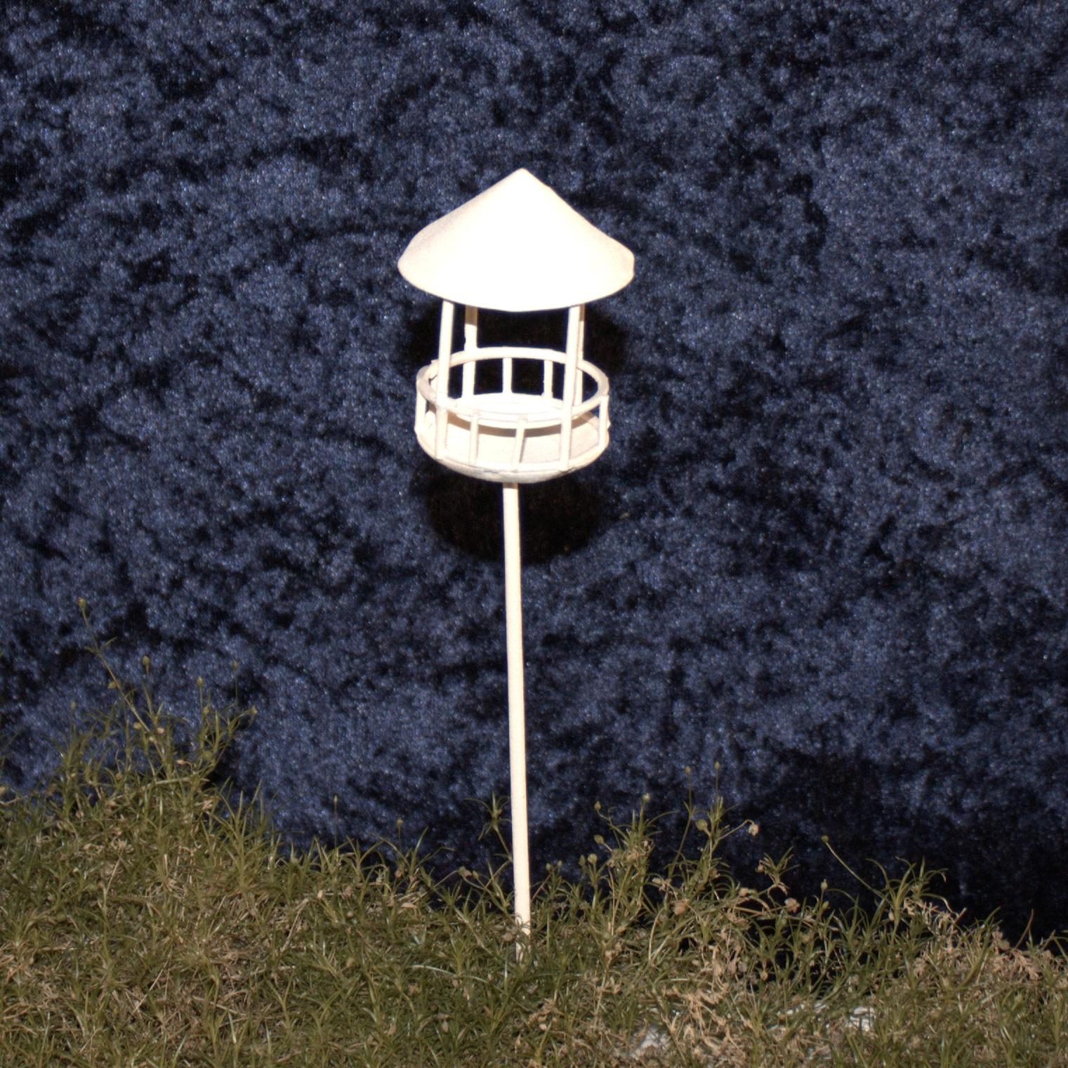 Minigarten taubenschlag wei vogel gartendeko miniatur - Miniatur gartenmobel ...